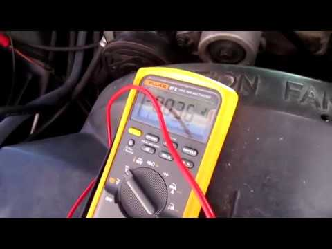 Voltage Drop test! Checkin battery Cables on  the NHRA truck