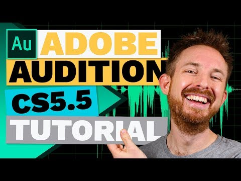 Adobe Audition CS5.5 Tutorial