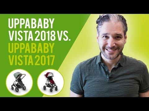 UPPAbaby Vista 2018 vs UPPAbaby Vista 2017 | Stroller Comparison
