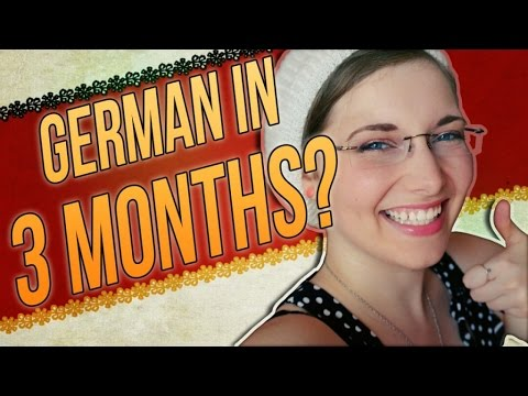Deutsch lernen: 10 Tips on HOW TO LEARN GERMAN Fast & Fun :) [GER]