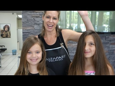 DIY Cute Kids Ombre/Highlights - How To Give Your Kids Summer Tips