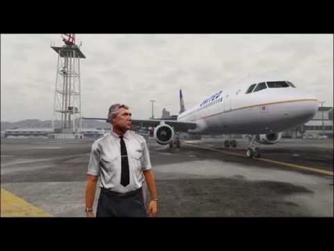 Grand Theft Auto V | Flight from LS I airport to Procopio I. airport.
