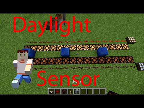How to use Daylight Sensor in Minecraft