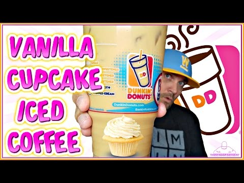 DUNKIN' DONUTS® | VANILLA CUPCAKE ICED COFFEE REVIEW | THEENDORSEMENT