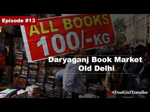 Daryaganj Sunday Book Market   Buy Books for Rs 100 Per Kg   Old Delhi Markets