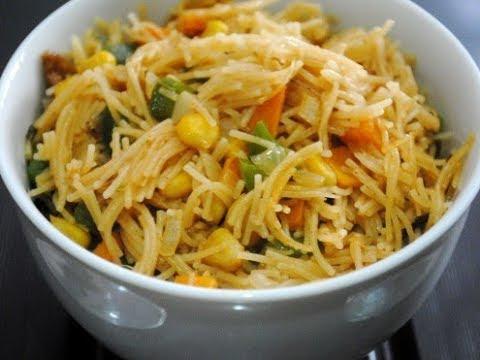 Vermicelli sweet corn Upma   HEALTHY BREAKFAST   Seviyan Upma   Easy & Quick Recipe