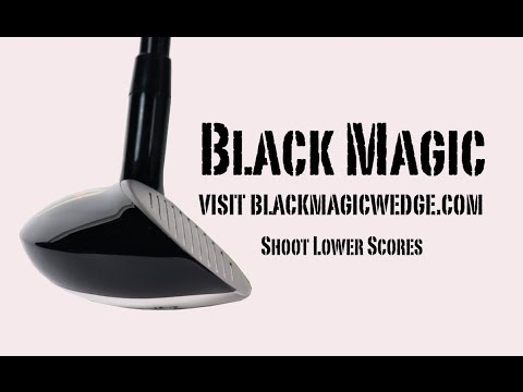 Hit better Bunker shots with the Black Magic Hybrid Wedge