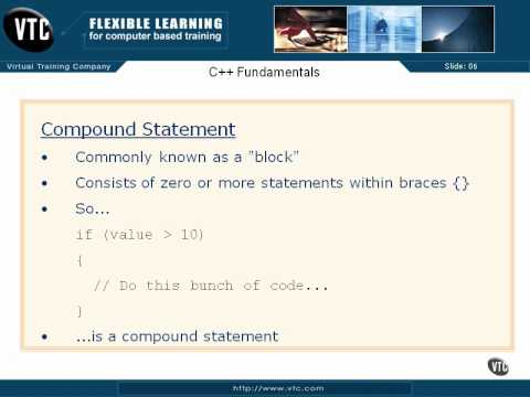 05  C++ Enums    23  Compound Satement