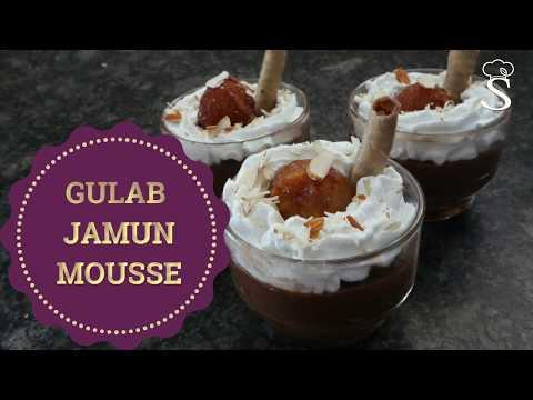 Gulab Jamun Mousse | Gulabjamun Indian Fusion Dessert Recipe | Festive Recipes by Shree's Recipes