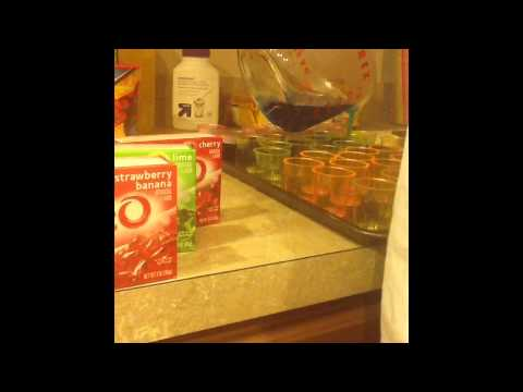 How to Make Non-alcoholic Jello Shots!