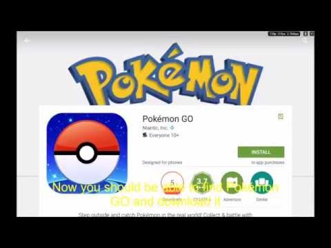 NO APK! (Android) How to download Pokémon GO from the Google Play Store