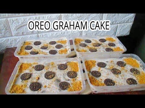 Graham Cake with Oreo I Ice Box Cake I Oreo Graham Cake I Oreo Graham Float Recipe