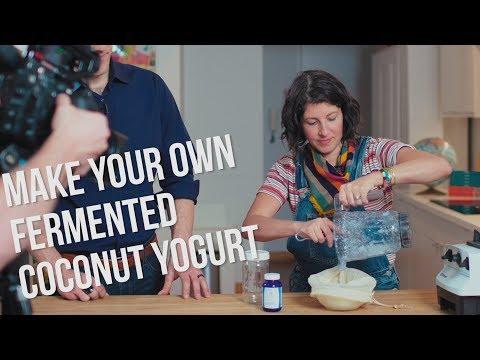 Coconut Kefir Recipe + Fermented Starter Tips w/ Meghan Telpner