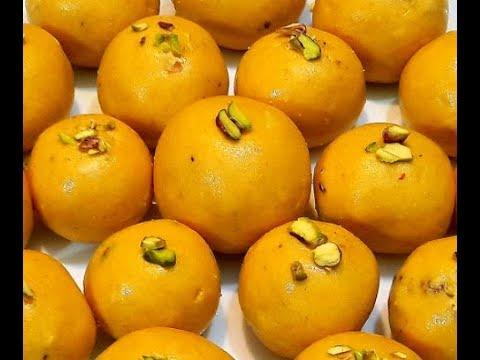 How To Make Soft Ladoo/Besan Ladoo