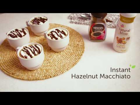 Instant Hazelnut Macchiato