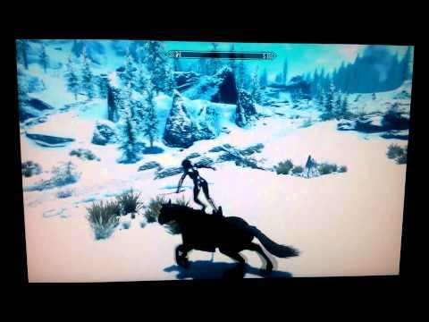 Skyrim Ninja Horseback Running