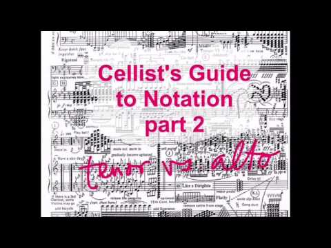 Tenor Clef vs Alto Clef: Cellist's Guide to Notation part 2
