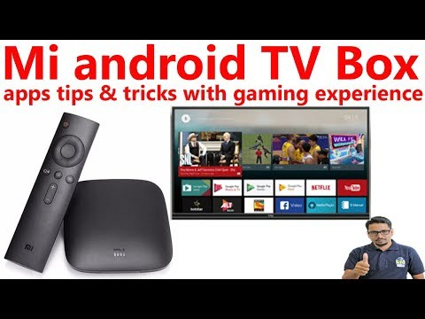 Hindi || Mi box android tv apps tips & tricks with gaming experience