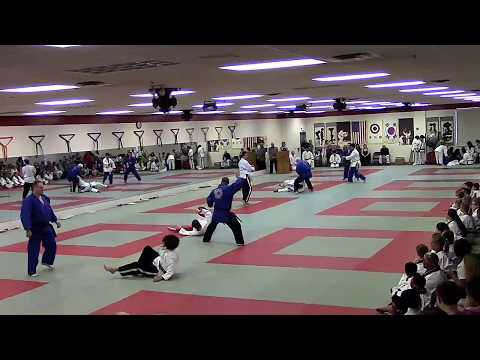 HMA 2018 Spring Black Belt Graduation Demo (Judo)