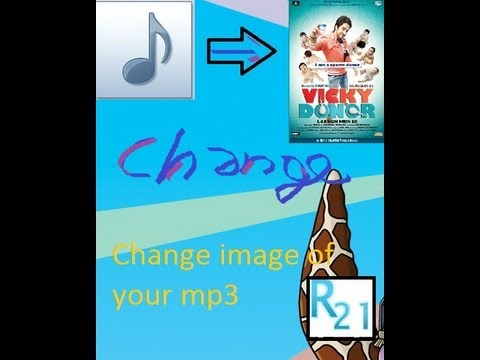 How to change image of a mp3 file