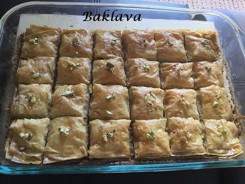 Baklava Recipe in Hindi...