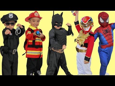 Kids Costume Runway Show Power Rangers Superheroes Disney Marvel Dress Up Fun Ckn Toys