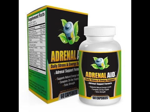 Adrenal-AID: Adrenal Gland Health Support Supplement/Complex