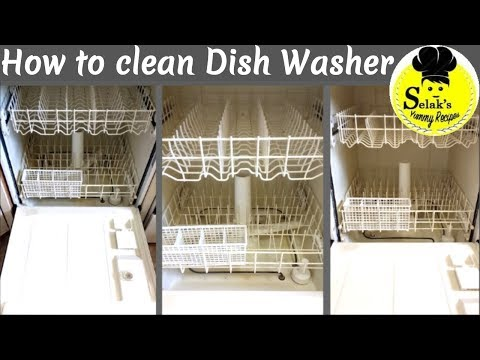 How to Clean dishwasher with Baking Soda and Vinegar || How to Clean Dishwasher in Tamil
