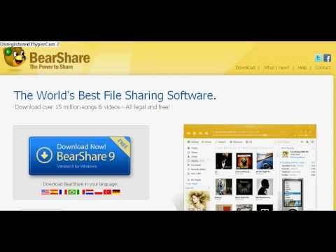 How to download songs from computer to phone using bearshare