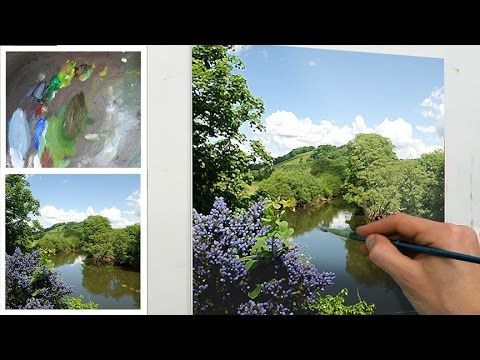 #62 How To Start an Oil Painting By Blocking In | Oil Painting Tutorial