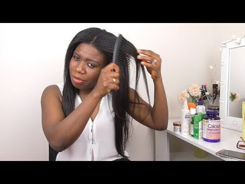 WINTER HAIR CARE TIPS | AVIOD DRY BRITTLE RELAXED HAIR| GROW LONG RELAXED HAIR|