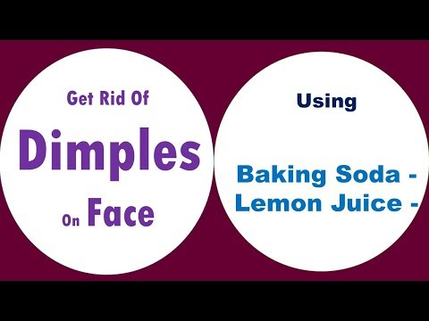 Get Rid Of Dimples On Face With Baking Soda & Lemon Juice
