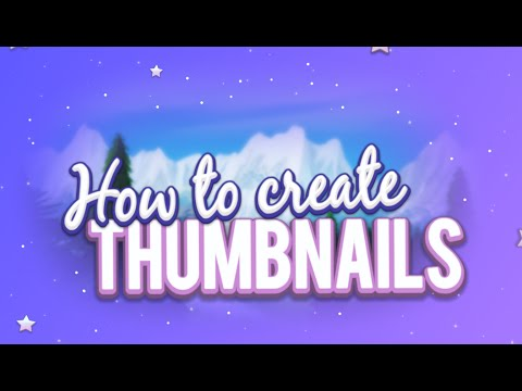 How To Create Thumbnails // Paint.net Tutorial