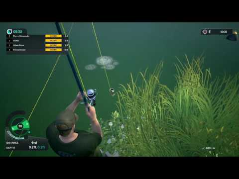 Dovetail Games Euro Fishing Game play! (200 Yard CAST!)