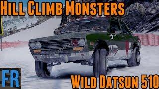 Hill Climb Monsters - Wild Datsun 510 (Forza Horizon 3)
