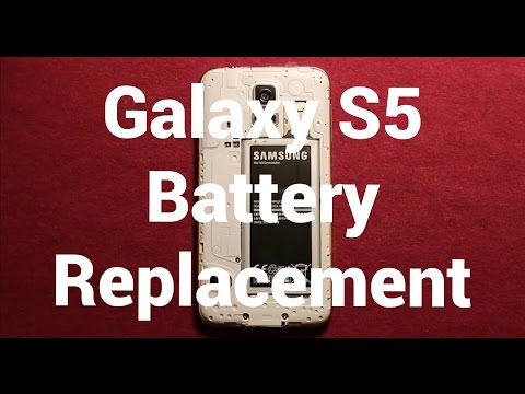 Galaxy S5 Battery Replacement How To Change