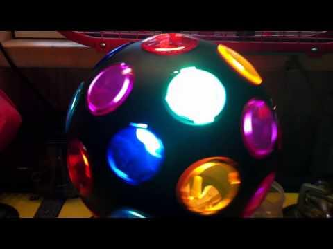 CFL DISCO BALL (took original tiny bulb out)