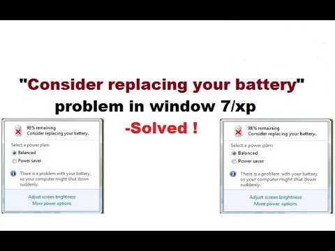 how to fix consider replacing your battery problem - [100% works]