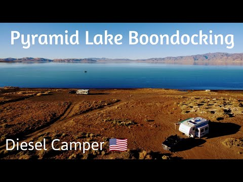 Pyramid Lake Boondocking- RV Camping at Warrior Point Campground