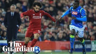 Jürgen Klopp 'could fill bottles' with adrenaline after Liverpool's win over Napoli