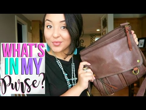 WHAT'S IN MY BAG? 2017 | Page Danielle