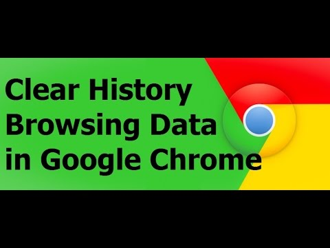 How to Clear History and Browsing Data in Google Chrome | Free Windows 10 Tutorial @ TraFoo House.