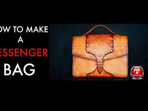 MESSENGER BAG TUTORIAL AND PATTERN DOWNLOAD
