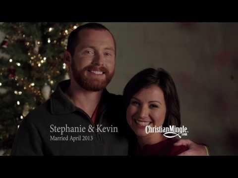 Stephanie & Kevin's First Christmas