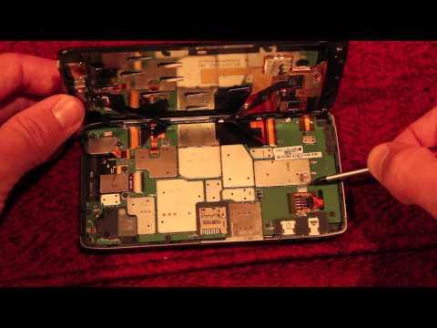 Motorola XT925 RAZR HD Water Damage Sensor Sticker Indicator Locations