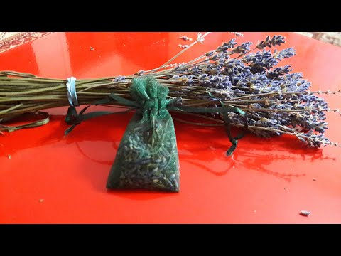 Organice Dry Lavender in Scent Bags