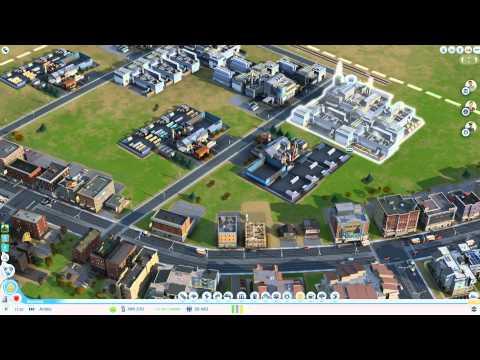 SimCity Building a quick money making city (Swedish)