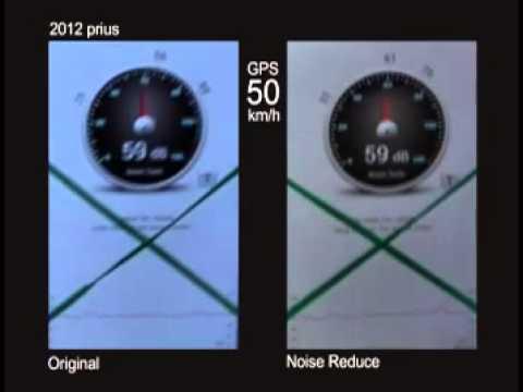 2013 prius NVH test @ 50km/h