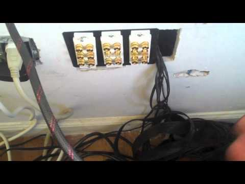 Speaker wire tips and tricks .mov