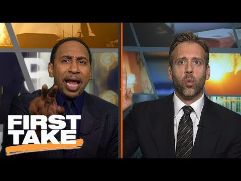 Stephen A. and Max have heated debate over marijuana in the NBA | First Take | ESPN